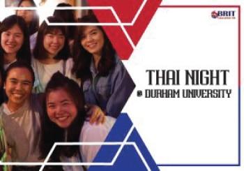 รีวิว Durham Thai Night เรียนต่ออังกฤษ แบบมันๆ ที่ Durham University