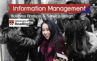 รีวิวเรียนต่อ MSc Information Management – Business Analysis and Service Design, University of Reading, UK