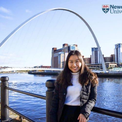 รีวิว การเรียน ที่ Newcastle University กับ P Yui