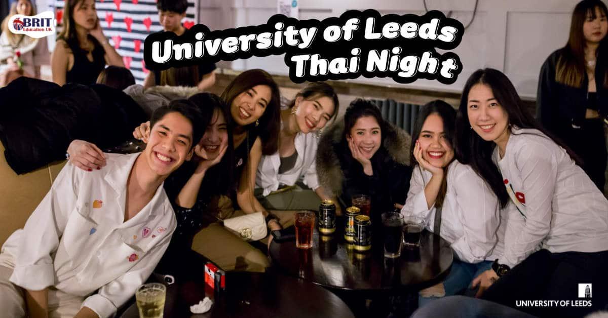 งานเลี้ยงสังสรรค์นักเรียนไทยที่ University of Leeds ประจำปี 2020 - 2021